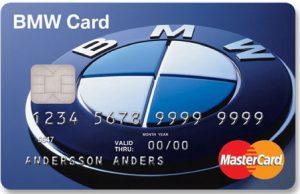 BMW kort Mastercard